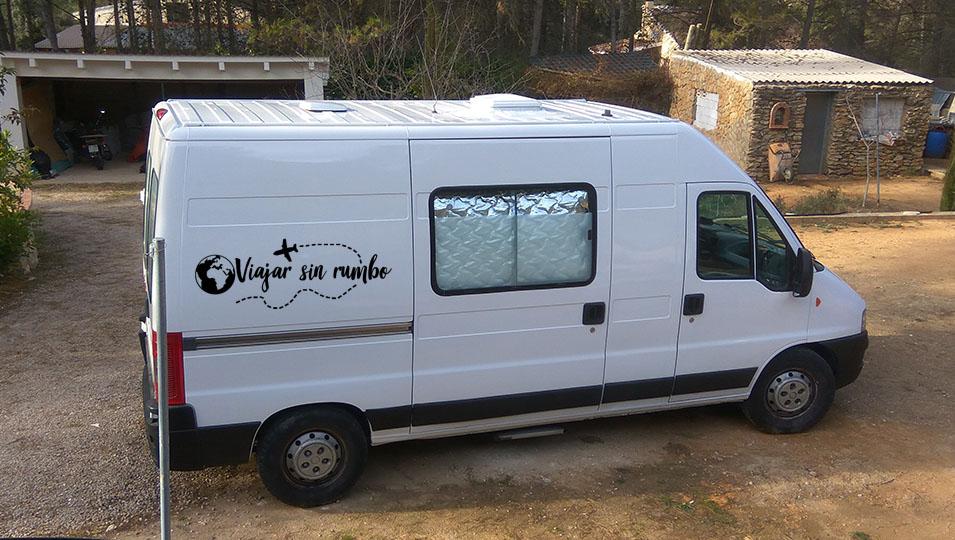 pintar furgoneta