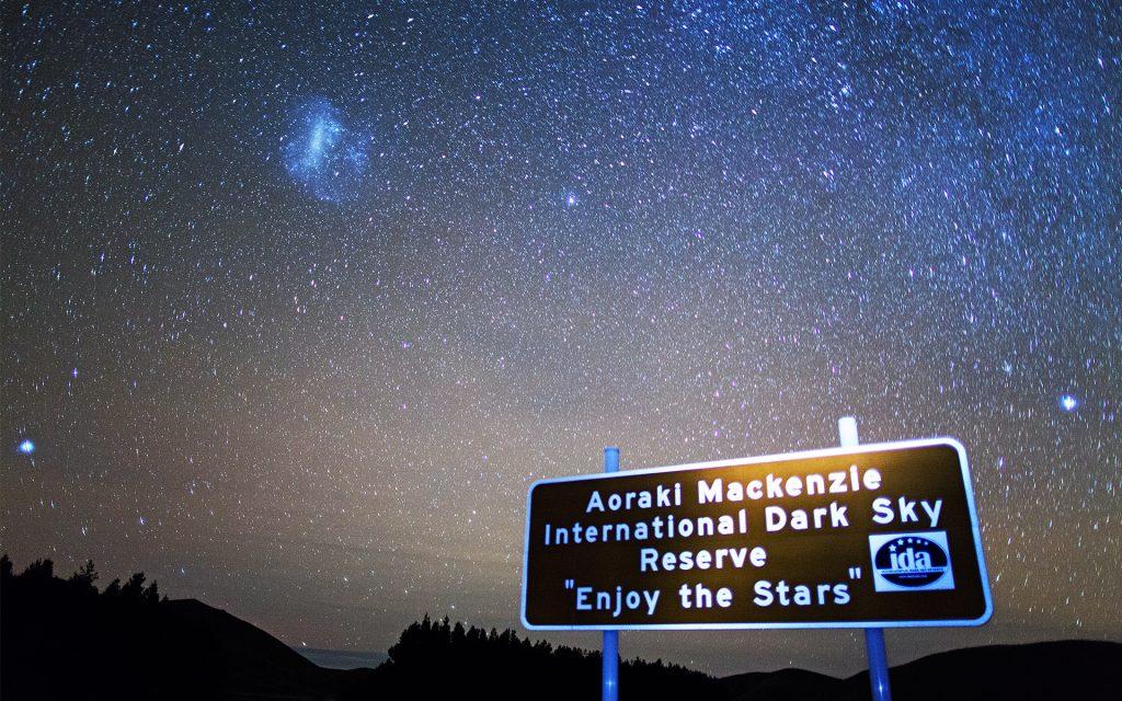 cielo estrellado Aoraki Mackenzie