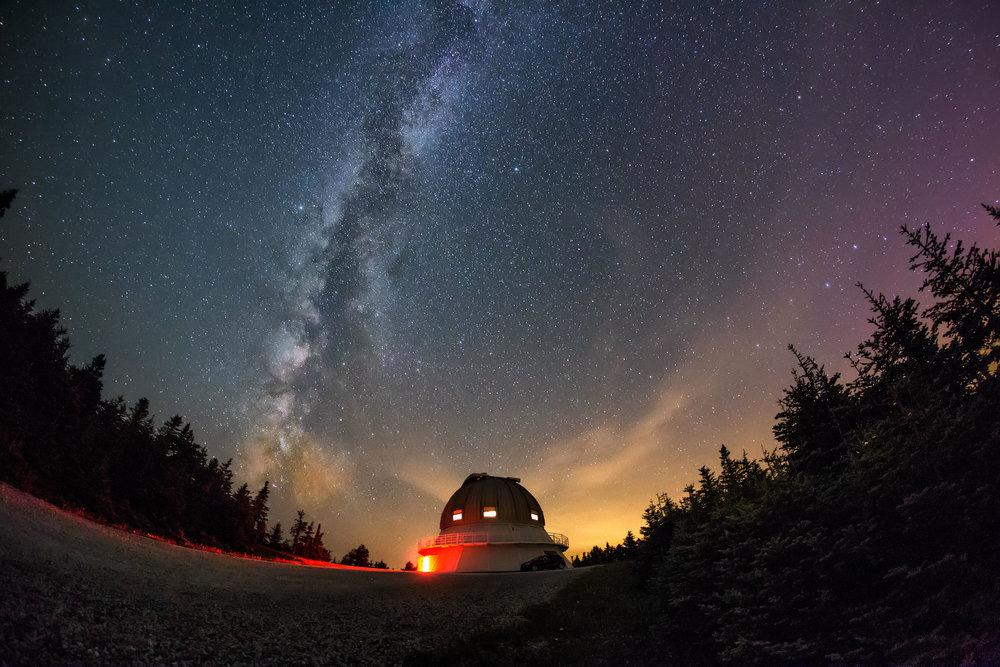 cielo estrellas Mont-Mégantic