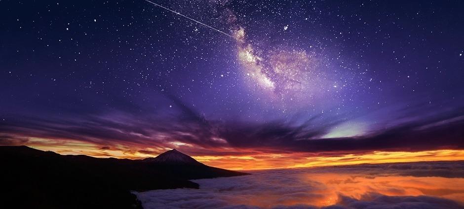 cielo estrellas Teide