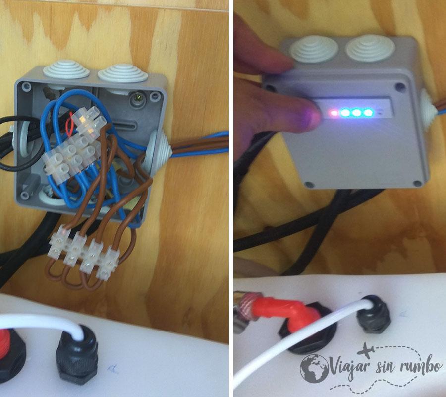cuadro eléctrico furgon camper