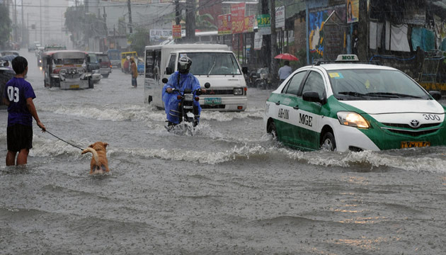 inundaciones filipinas viajar