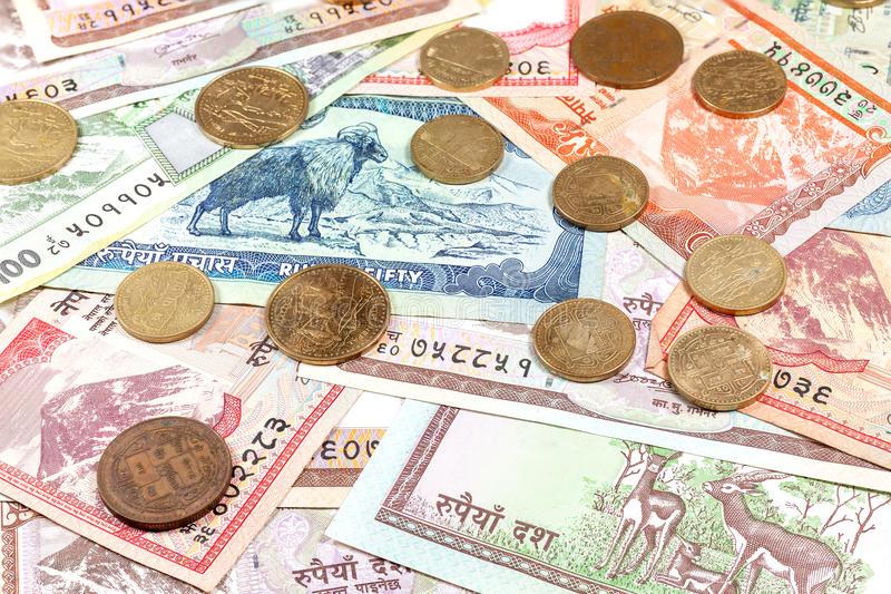 moneda de nepal