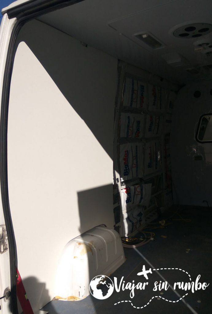 panelar furgoneta