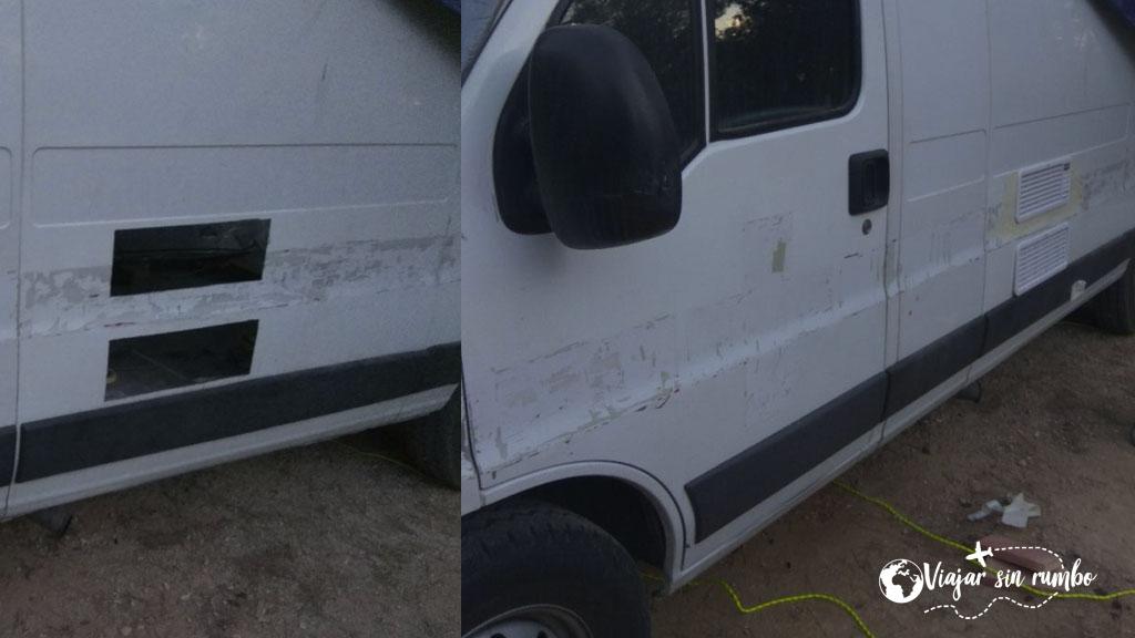 instalar rejillas furgoneta