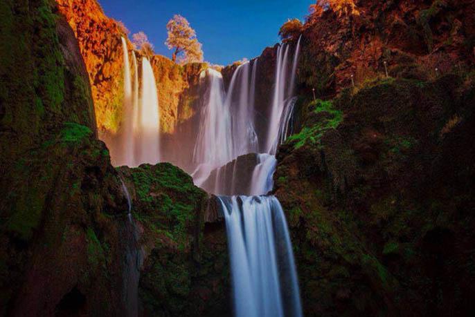 cascadas de ouzoud marruecos