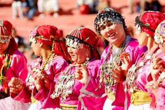 festival rosas marruecos