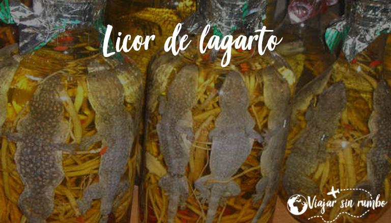 licor de lagarto