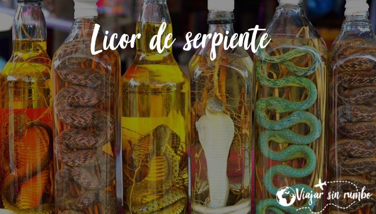 licor de serpiente
