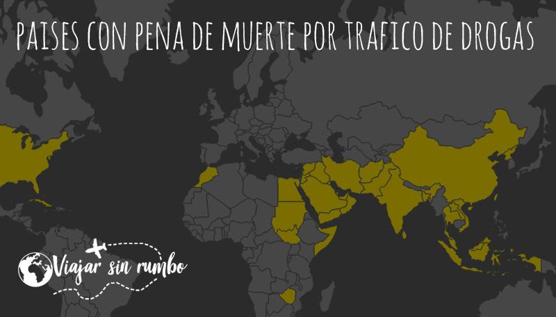paises pena de muerte por trafico de drogas