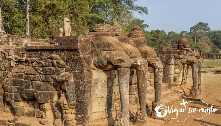 La terraza de los elefantes