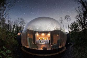 casa burbuja airbnb
