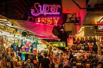 mercado nocturno patpong bangkok