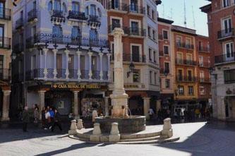 plaza del torico teruel