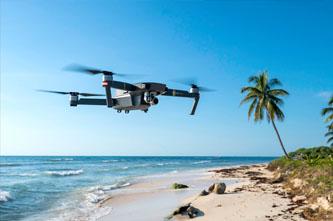 dj mavic dron viajar