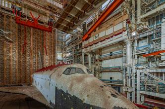 lanzadera espacial abandonada rusia