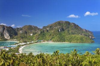Koh Phi Phi viewpoint mirador