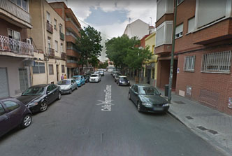 aparcar perpendiculares CALLE ALCALÁ madrid