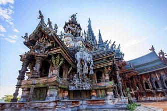 templo de la verdad pattaya
