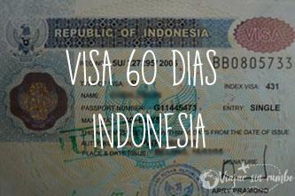 visa 60 dias indonesia