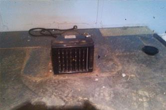 calefaccion radiador furgoneta