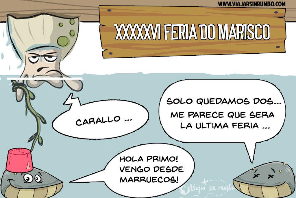 ferias del marisco galicia