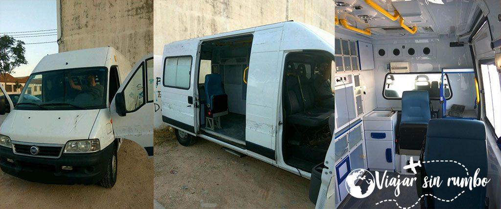 convertir furgoneta camper