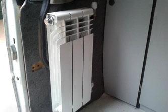 radiador boiler furgoneta