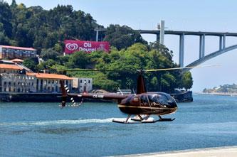 tour helicoptero Oporto