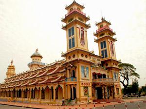 cao dai Tay Ninh