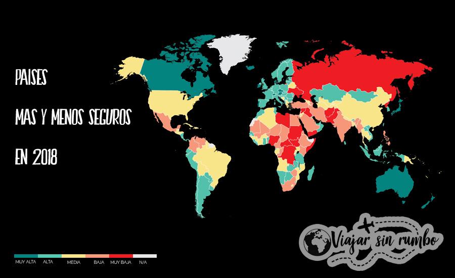 Países mas inseguros del 2018