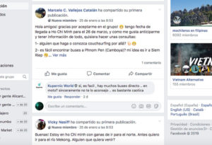 grupos facebook para viajeros