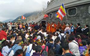 ceremonia budista isla lantau
