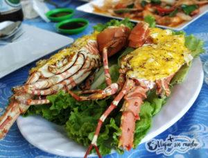 comer langosta en Vietnam