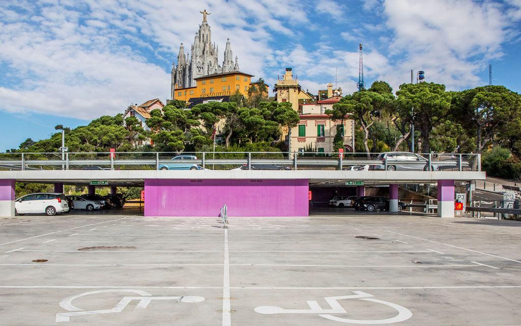 parking Tibidabo