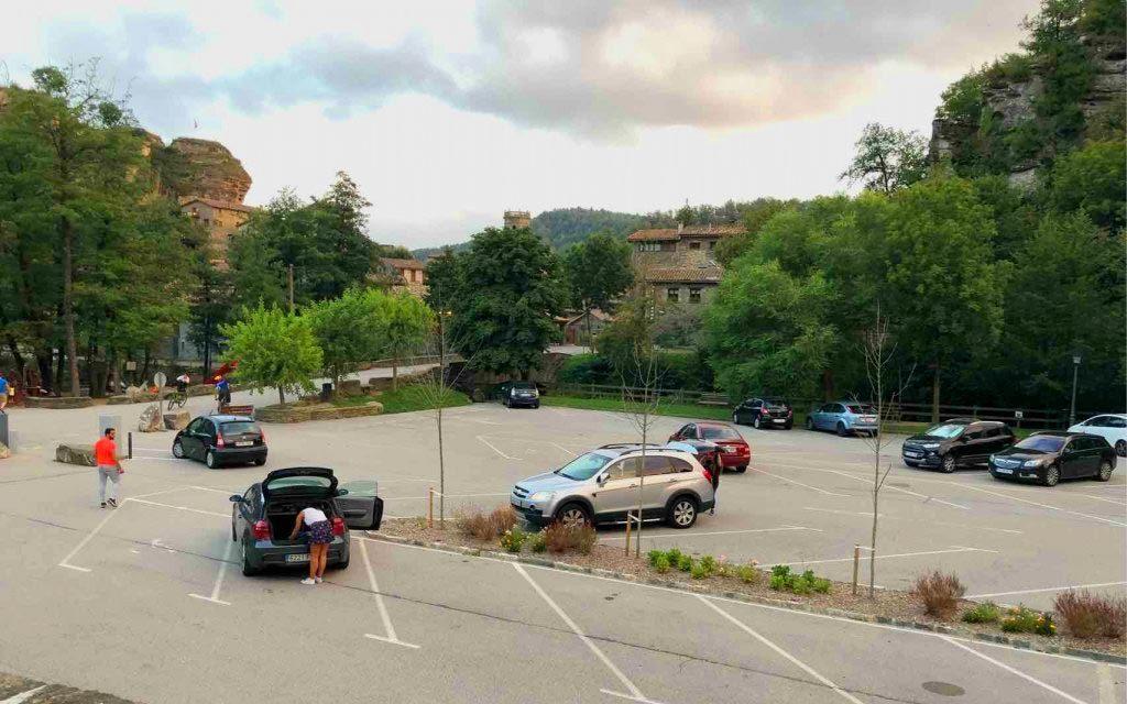 parking Rupit