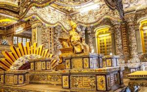 Tumbas imperiales Hue Vietnam
