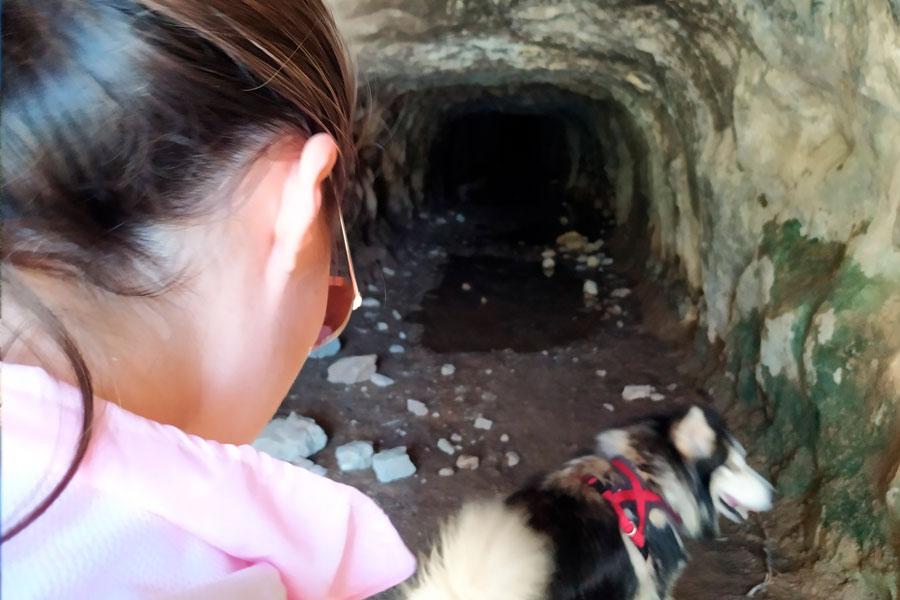 Túnel presa de Isbert