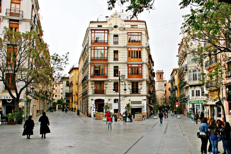 Barrio de El Carmen Valencia