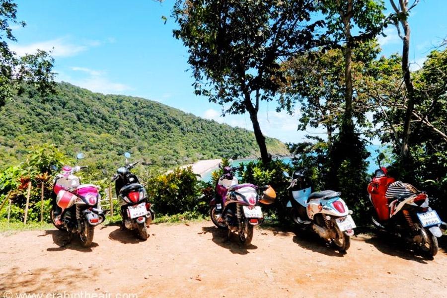 alquiler scooter Koh Lanta