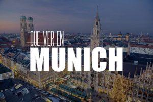 Que ver en Múnich
