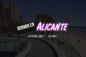 dormir en Alicante