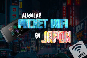 Pocket wifi Japón