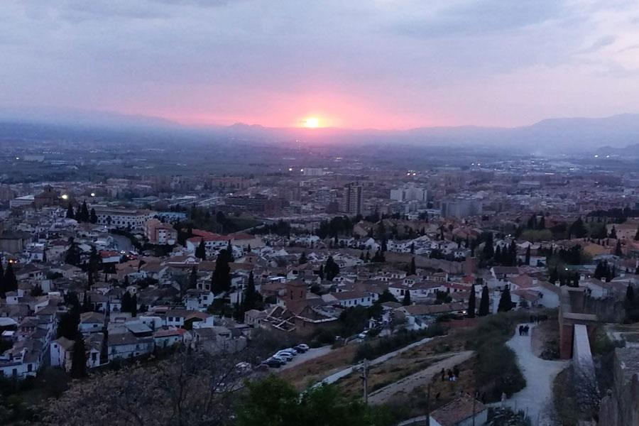 Mirador de San Miguel Alto en Granada
