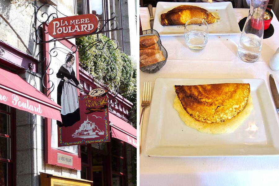 La Mere Poulard tortilla Francia
