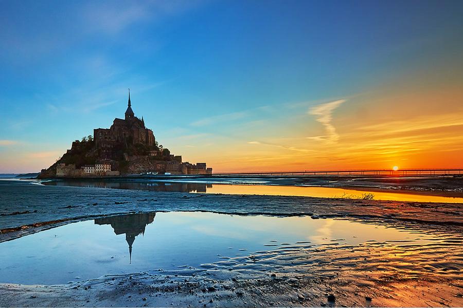 Foto Abadía Saint Michel Normandía