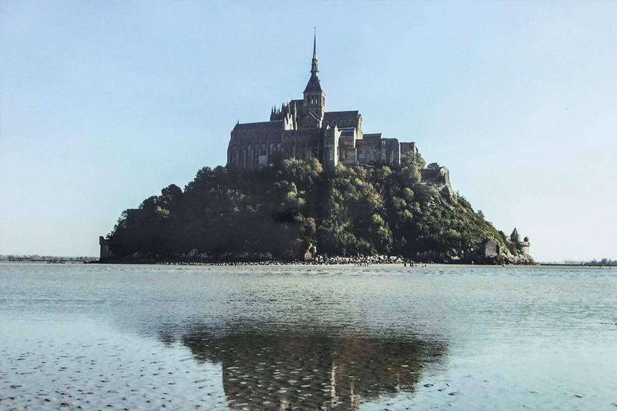 Mont Saint Michel Francia