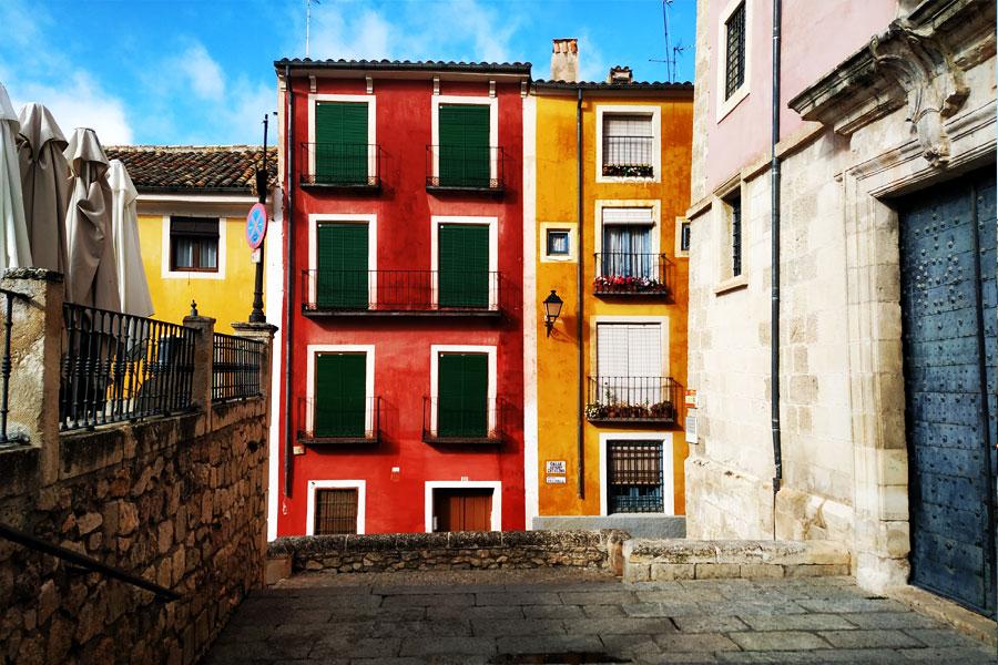 Casas de colores Cuenca