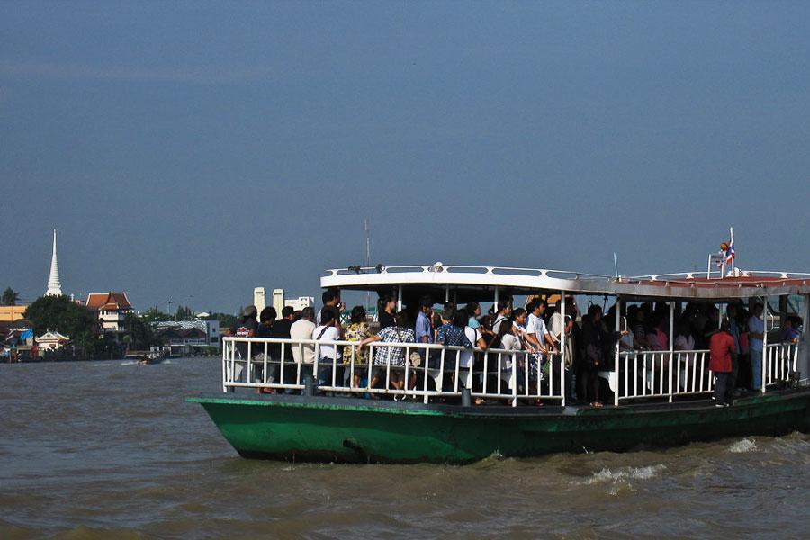 Cruzar rio Bangkok