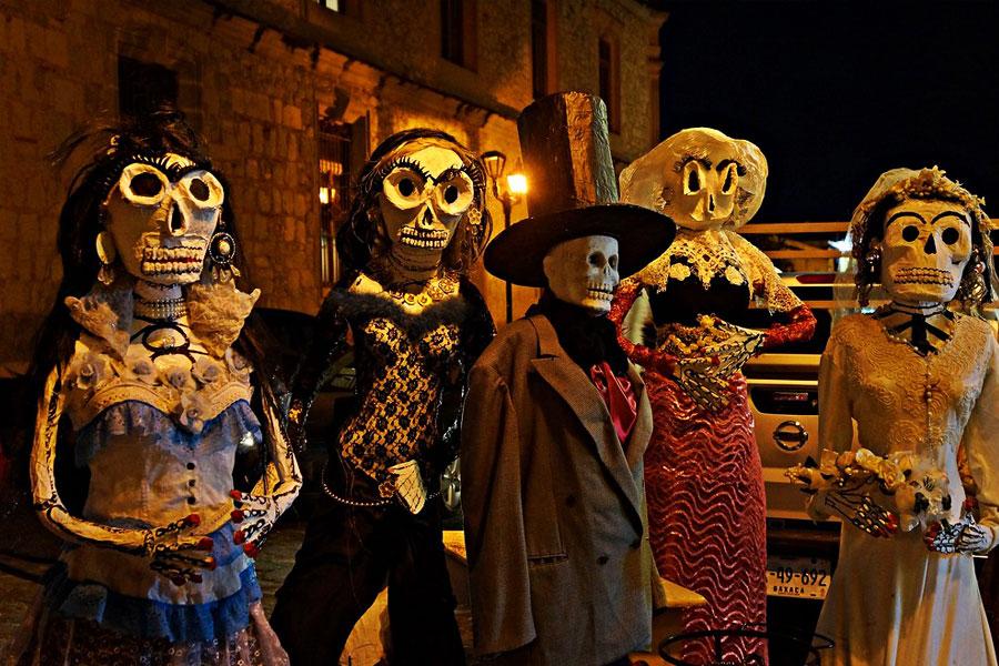 Día de los muertos Oaxaca Mexico